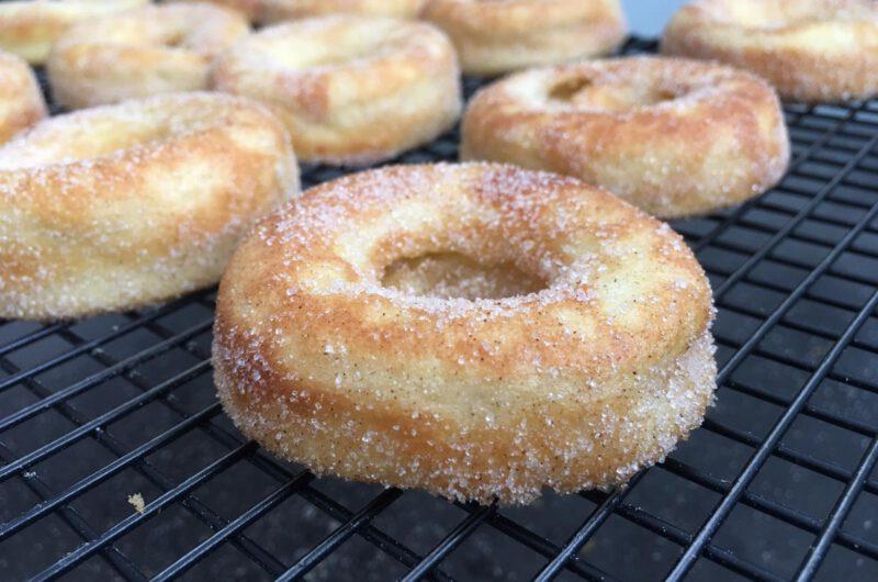 Apfelküchle aus der Donutform / im Backofen