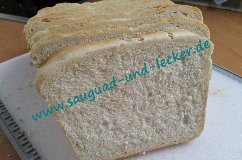 Buttertoast / Toastbrot aus dem Zauberkasten
