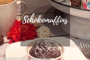 vegane Schokomuffins